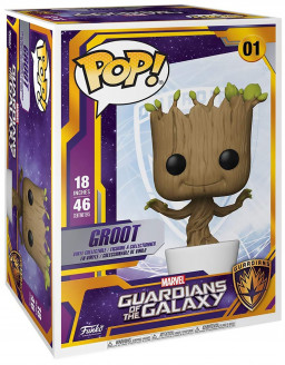 Фигурка Funko POP Marvel: Guardians Of The Galaxy – Dancing Groot (46 см)