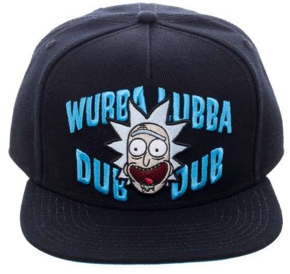 Бейсболка Rick and Morty: Wubba Lubba Dub Dub