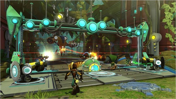 Ratchet & Clank Q-Force (с поддержкой 3D) [PS3]