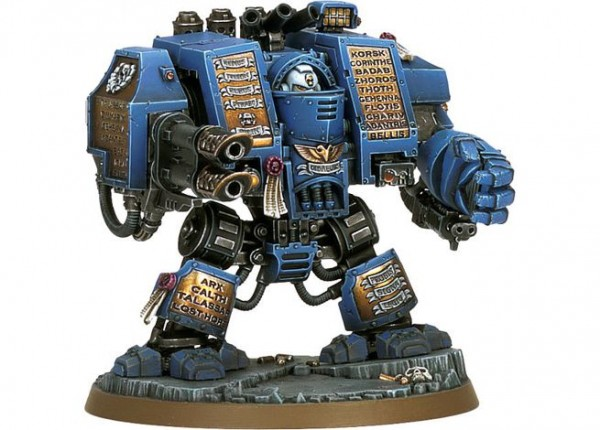 Набор миниатюр Warhammer 40,000 Space Marine Venerable Dreadnought