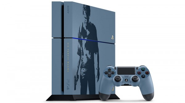 Комплект Sony PlayStation 4 (1 TB) Black. Uncharted Limited Edition + игра Uncharted 4: Путь вора