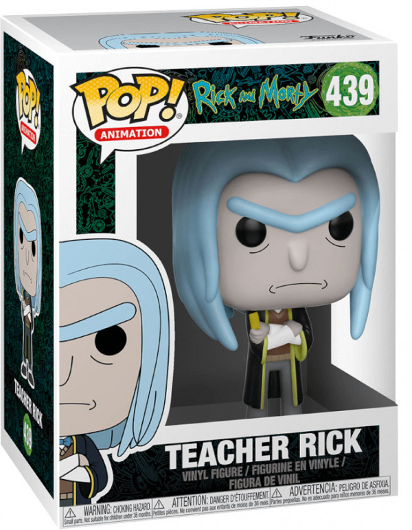 Фигурка Funko POP Animation: Rick And Morty – Teacher Rick (9,5 см)
