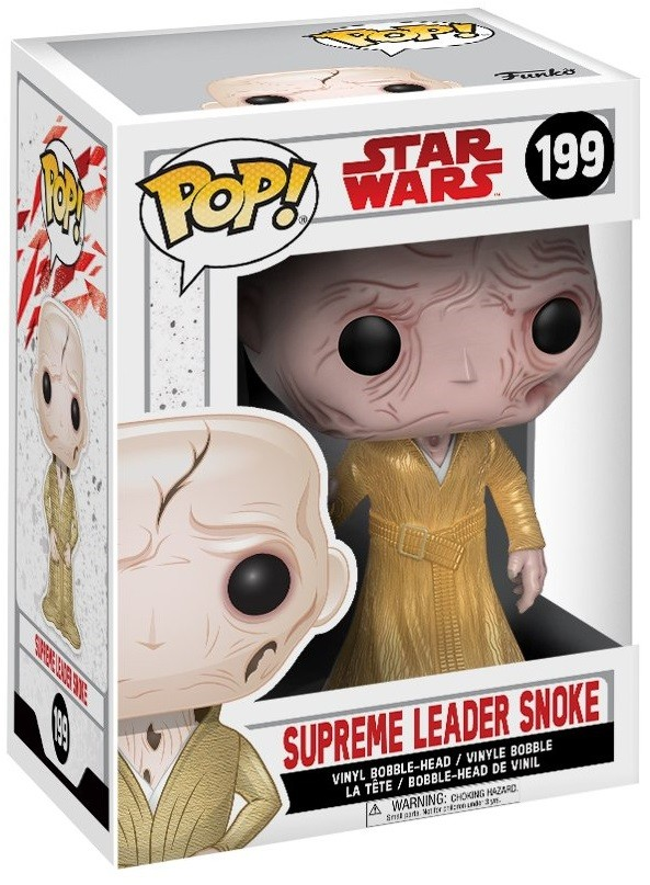 Фигурка Funko POP: Star Wars Episode VIII The Last Jedi – Supreme Leader Snoke Bobble-Head (9,5 см)