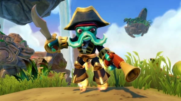 Skylanders. Swap Force. Интерактивная фигурка Big Bang Trigger Happy [PS3 и Xbox 360]