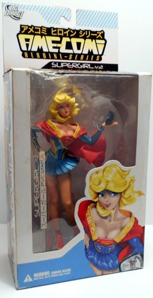 Фигурка Ame-Comi Heroine Series Supergirl Version Statue 2 (22 см)