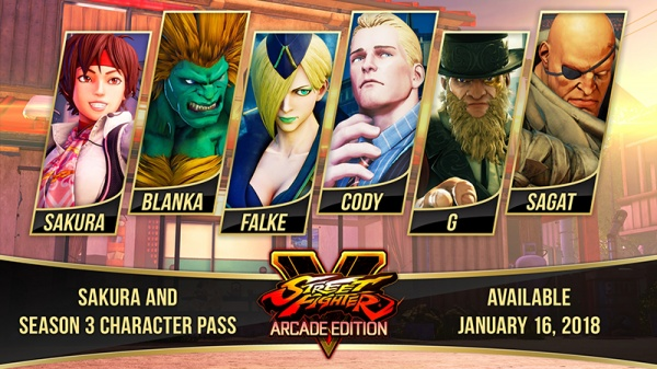 Street Fighter V: Season 3 Character Pass [PC, Цифровая версия]