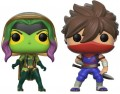 Фигурка Marvel vs. Capcom Funko POP Games: Gamora vs. Strider (9,5 см)