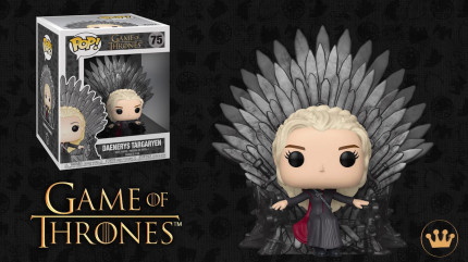 Фигурка Funko POP: Rides Game Of Thrones – Daenerys & Drogon (9,5 см)