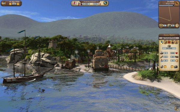 Port Royale 3. Pirates & Merchants [PS3]