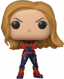 Фигурка Funko POP Marvel: Avengers Endgame – Captain Marvel Bobble-Head (9,5 см)
