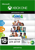 The Sims 4: Bundle (Get to Work, Dine Out, Cool Kitchen Stuff). Набор дополнение [Xbox One, Цифровая версия]