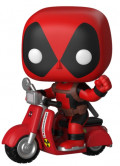 Фигурка Funko POP Rides: Deadpool – Deadpool On Scooter Bobble-Head (9,5 см)