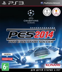 Pro Evolution Soccer 2014 [PS3]