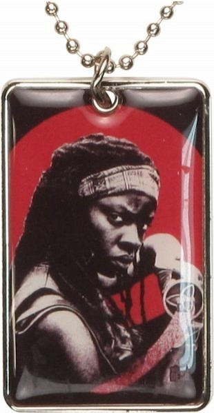 Жетон Walking Dead. Michonne Dog Tag