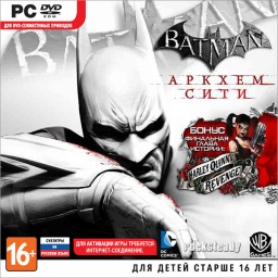 Batman. Аркхем Сити – версия для Steam (с поддержкой 3D) [PC-Jewel]
