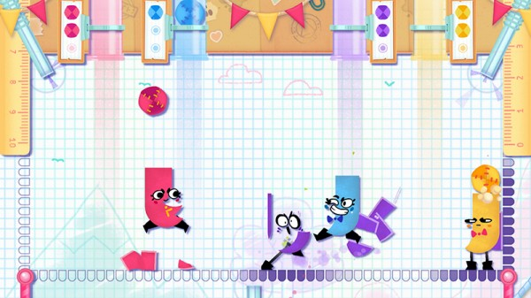 Snipperclips Plus: Cut it out, together! [Switch]