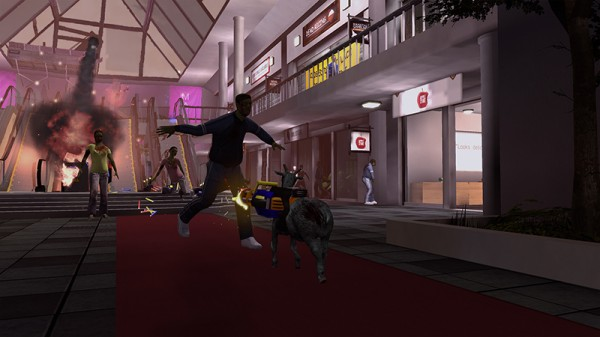Goat Simulator. Goaty Nightmare Edition