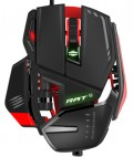 Проводная мышь Mad Catz RAT 6 Gaming Mouse – Black/Red для PC
