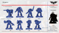 Фигурка Warhammer Blind Box: Miniatures Space Marine Heroes – Rest Of The World (1 шт. в ассортименте)