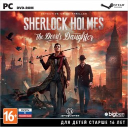 Sherlock Holmes: The Devil's Daughter [PC–Jewel]