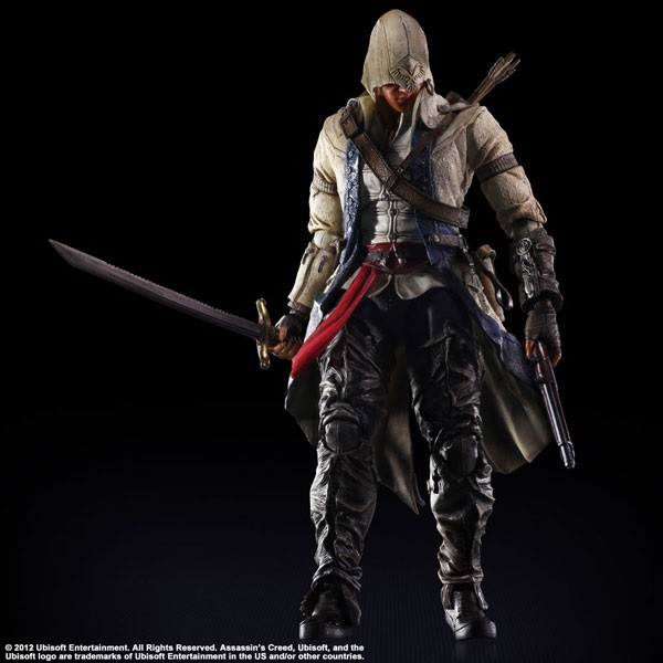 Фигурка Assassin's Creed III: Play Arts Kai Connor (27 см)
