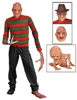 Фигурка Nightmare on Elm Street Series 3 Dream Child Freddy (18 см)