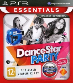DanceStar Party (Essentials) (только для PS Move) [PS3]