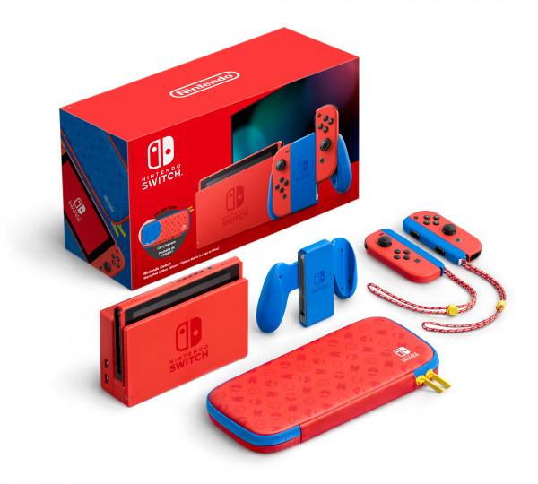 Nintendo Switch. Особое издание Марио