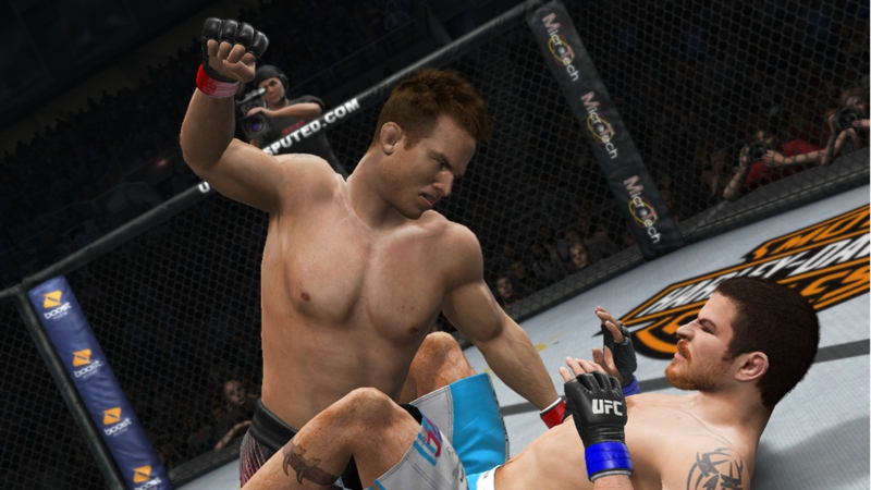 Pride Mode Screens Released for UFC Undisputed 3.