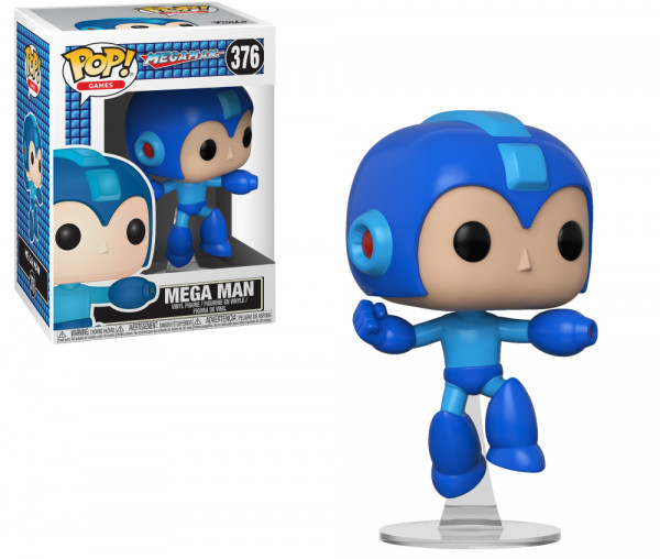 Фигурка Funko POP Games: Mega Man – Mega Man (9,5 см)