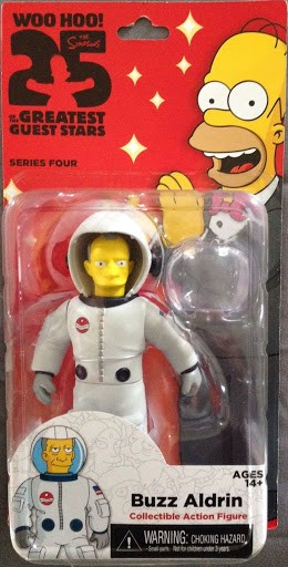 Фигурка The Simpsons. Series 4. Buzz Aldrin (13 см)