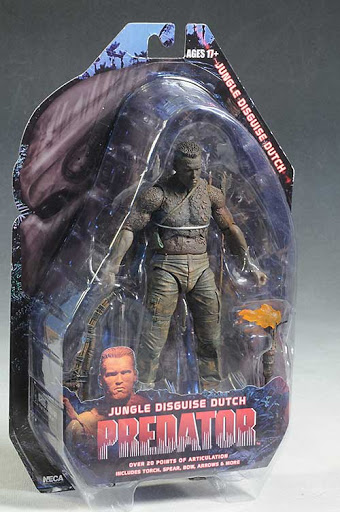 Фигурка Predators Series 9 Disguise Dutch (18 см)