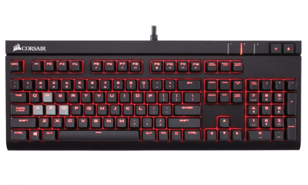 Клавиатура Corsair Gaming Strafe Cherry MX Brown проводная игровая для PC