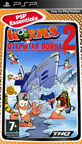 Worms: Открытая война 2 (Essentials) [PSP]