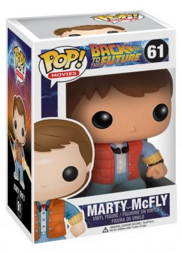 Фигурка Funko POP Movies: Back To The Future – Marty McFly (9,5 см)