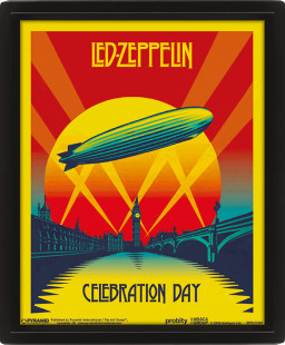 3D Постер Led Zeppelin: Celebration Day