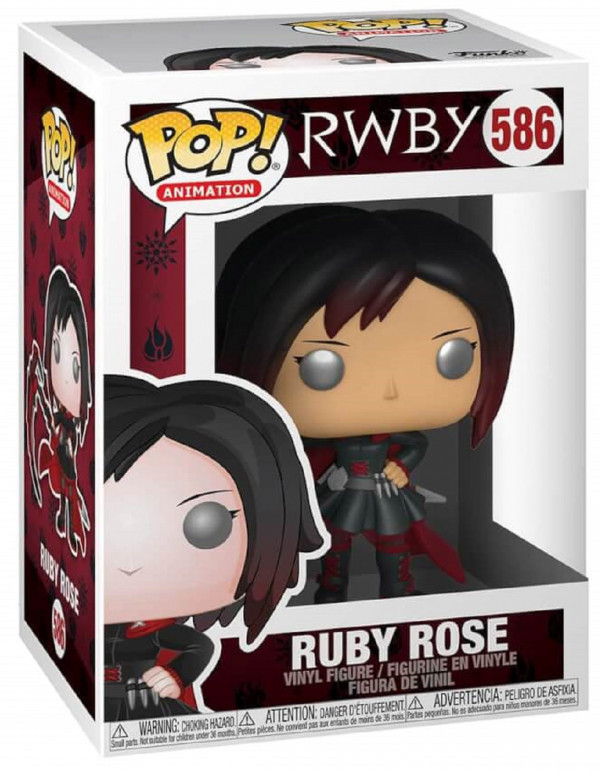 Фигурка Funko POP Animation: RWBY – Ruby Rose (9,5 см)