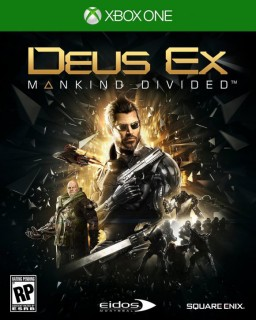 Deus Ex: Mankind Divided [Xbox One] – Trade-in | Б/У