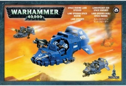 Набор миниатюр Warhammer 40,000. Space Marine Land Speeder