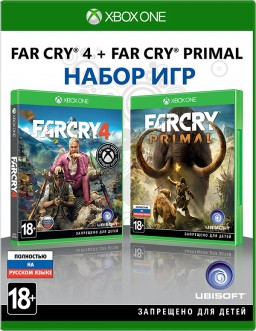 Комплект игр Far Cry 4 + Far Cry Primal [Xbox One]