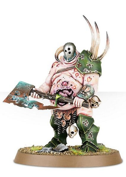 Warhammer. Миниатюра Nurgle Rotbringers Lord Of Plagues