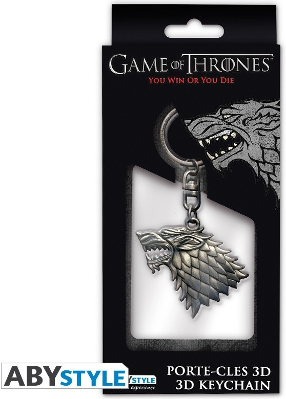 Брелок Game Of Thrones: 3D Stark