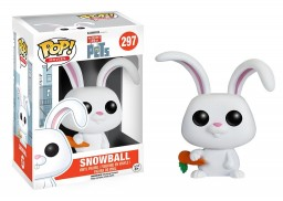 Фигурка Funko POP Movies: The Secret Life of Pets – Snowball (9,5 см)