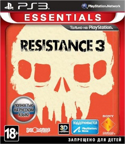 Resistance 3 (Essentials) (с поддержкой PS Move) [PS3]