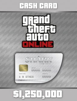 Grand Theft Auto Online: Great White Shark Cash Card  [PC, Цифровая версия]
