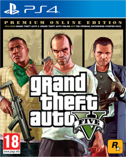 Grand Theft Auto V. Premium Online Edition [PS4]