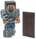 Фигурка Minecraft: Steve In Chain Armor (8 см)