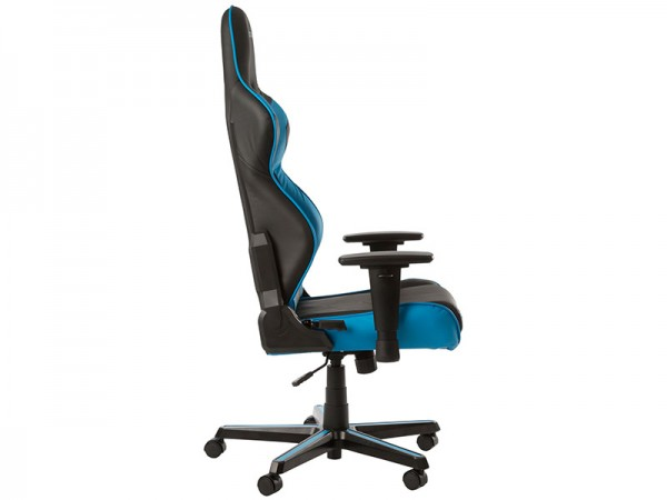 Геймерское кресло DXRacer Racing OH/RZ0/NB (Black/Blue)