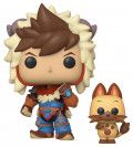 Фигурка Funko POP Animation: Monster Hunter – Stories Lute & Navirou (9,5 см)