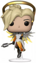 Фигурка Funko POP Games: Overwatch – Mercy Diamond Glitter Exclusive (9,5 см)